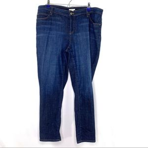 Eileen Fisher Plus Size Straight Leg Jeans